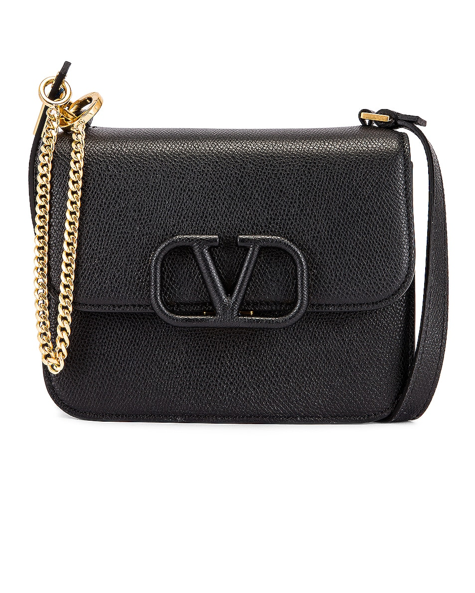 Image 1 of Valentino Small VSling Shoulder Bag in Black