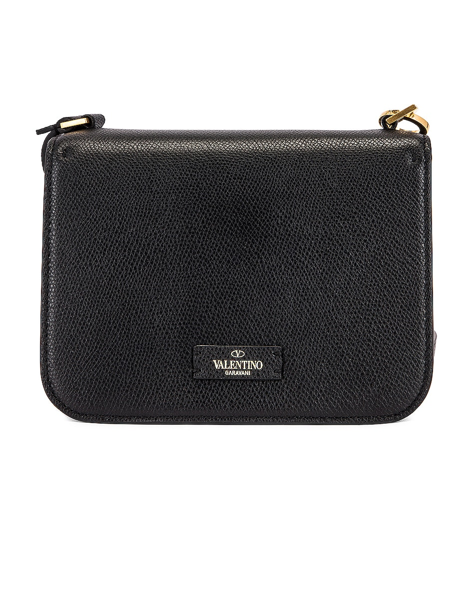 Image 3 of Valentino Small VSling Shoulder Bag in Black