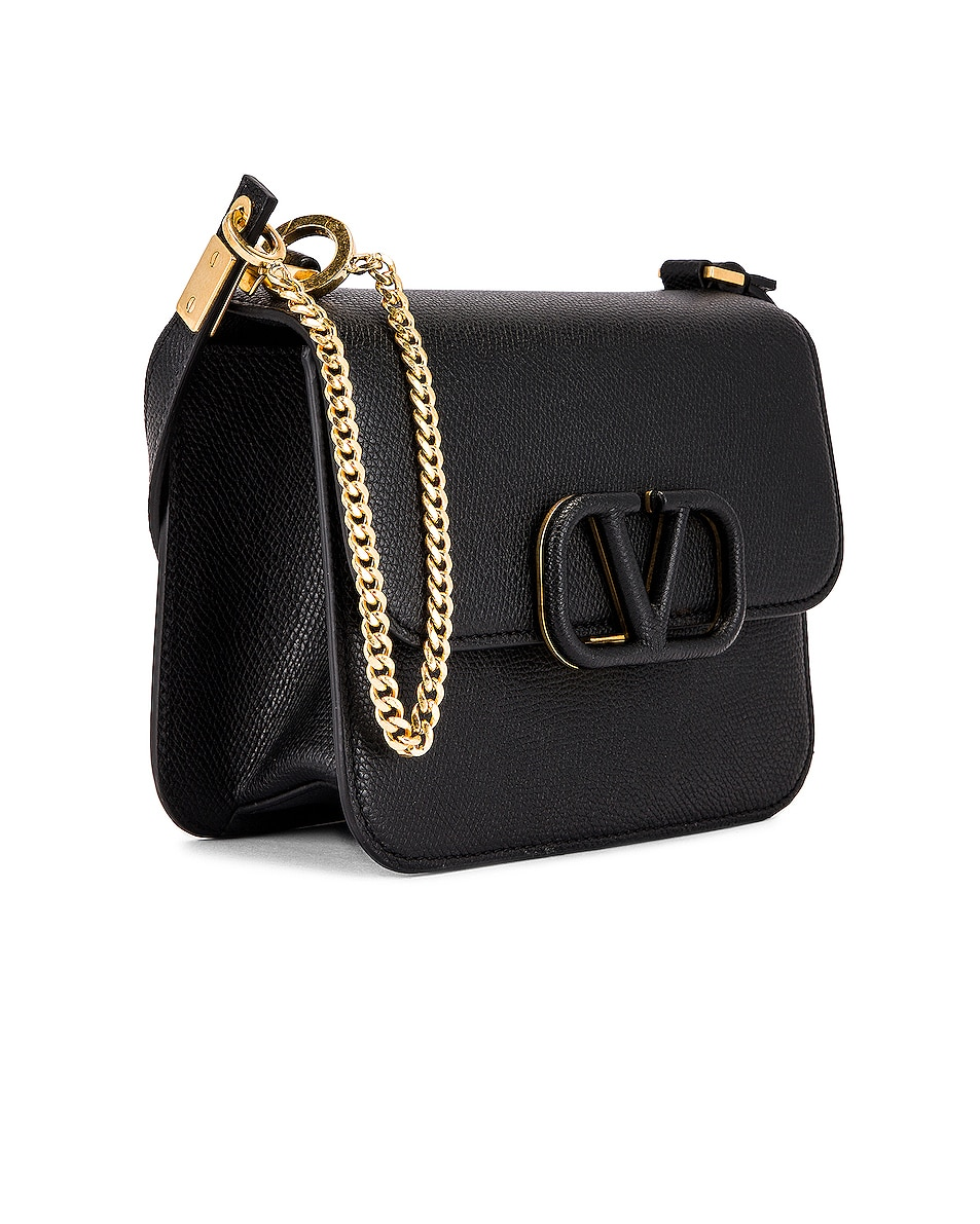Image 4 of Valentino Small VSling Shoulder Bag in Black