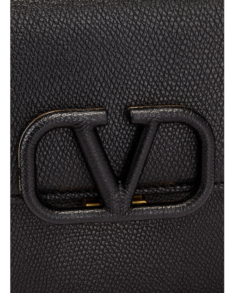 Image 8 of Valentino Small VSling Shoulder Bag in Black