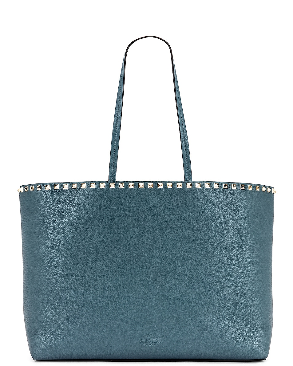 Image 3 of Valentino Rockstud Tote in Amadeus