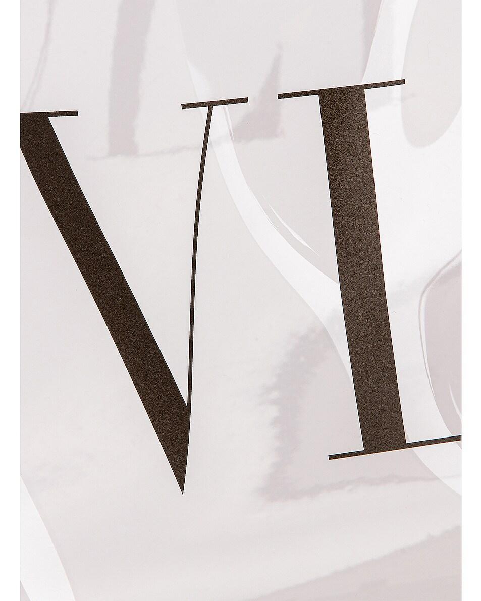 Image 7 of Valentino Small Grande Plage Tote in Transparent & Black
