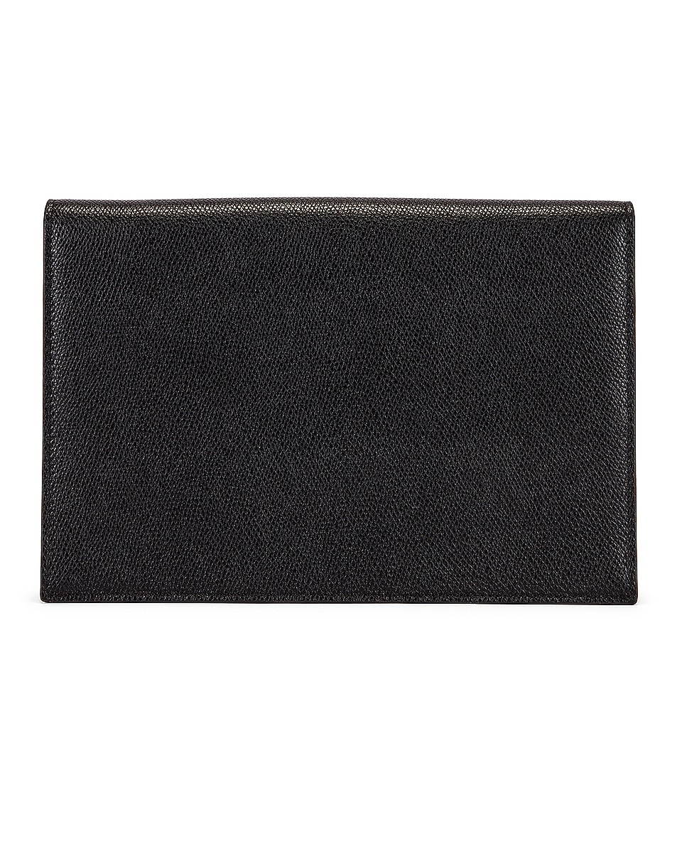 Image 3 of Valentino Medium VLogo Pouch in Black