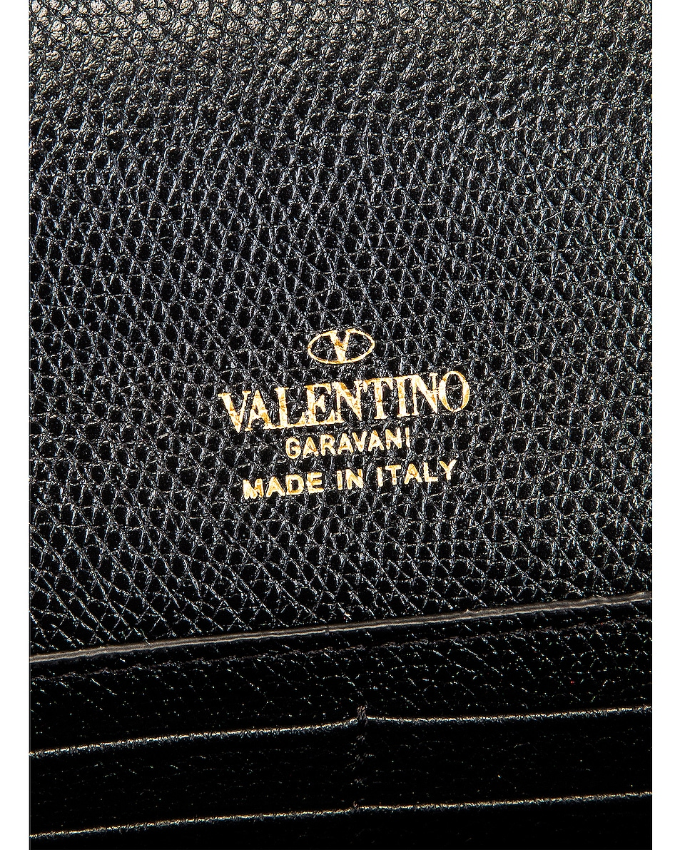 Image 6 of Valentino Medium VLogo Pouch in Black