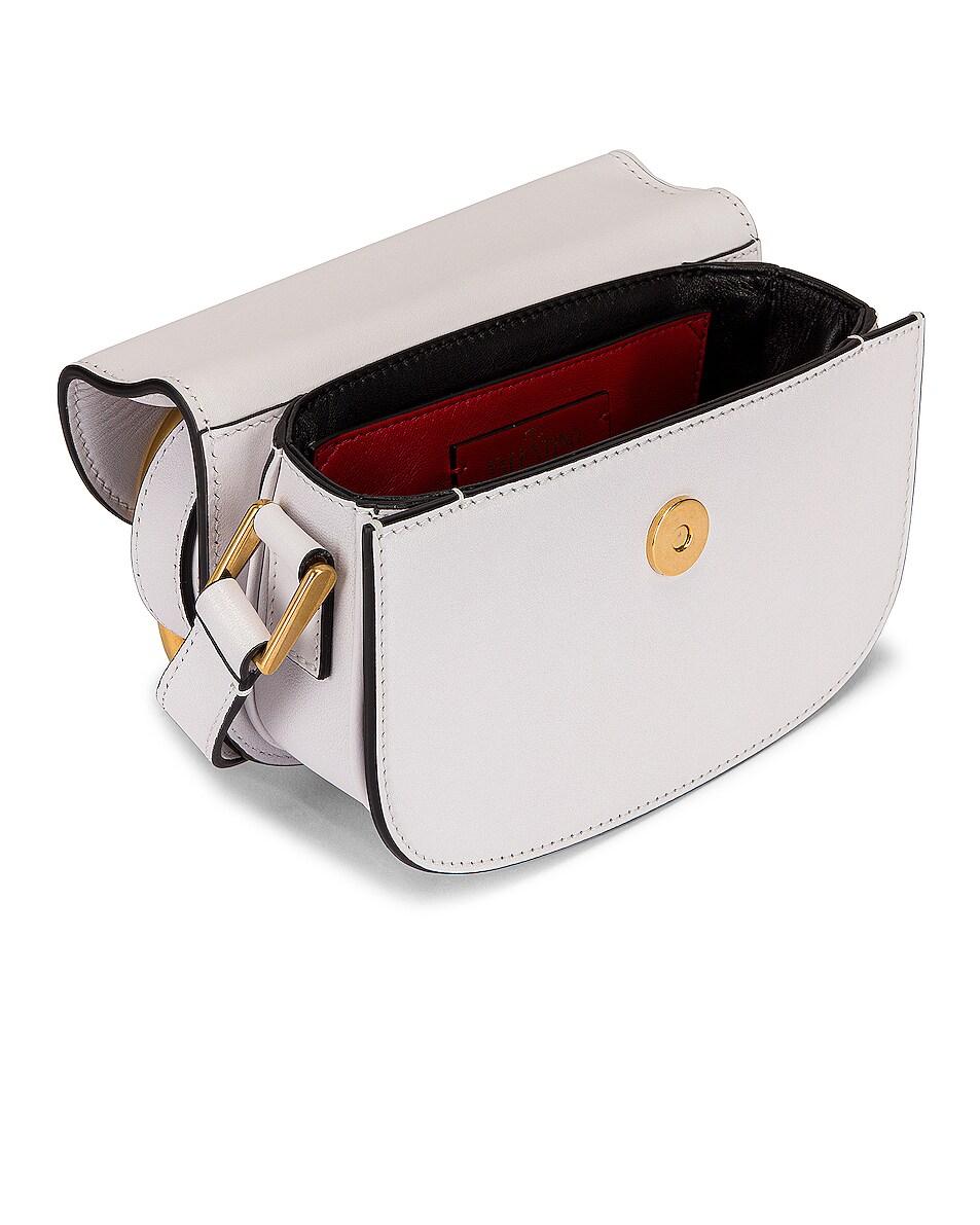 Image 5 of Valentino Small Supervee Shoulder Bag in Bianco Ottico