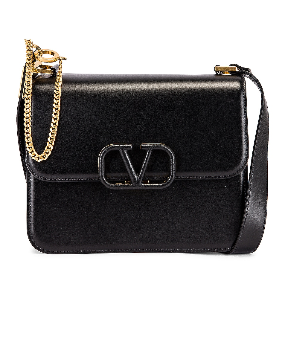 Image 1 of Valentino VSling Shoulder Bag in Nero