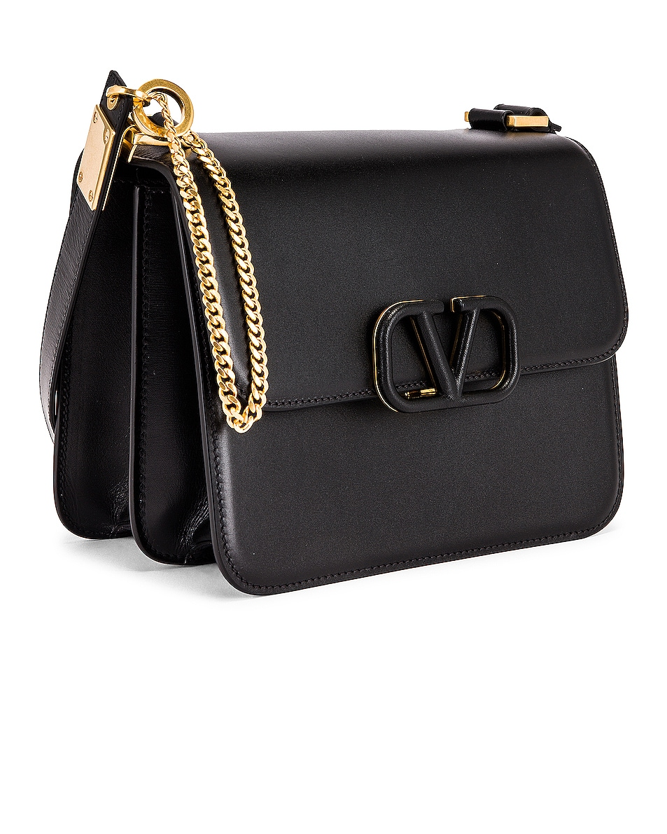 Image 4 of Valentino VSling Shoulder Bag in Nero