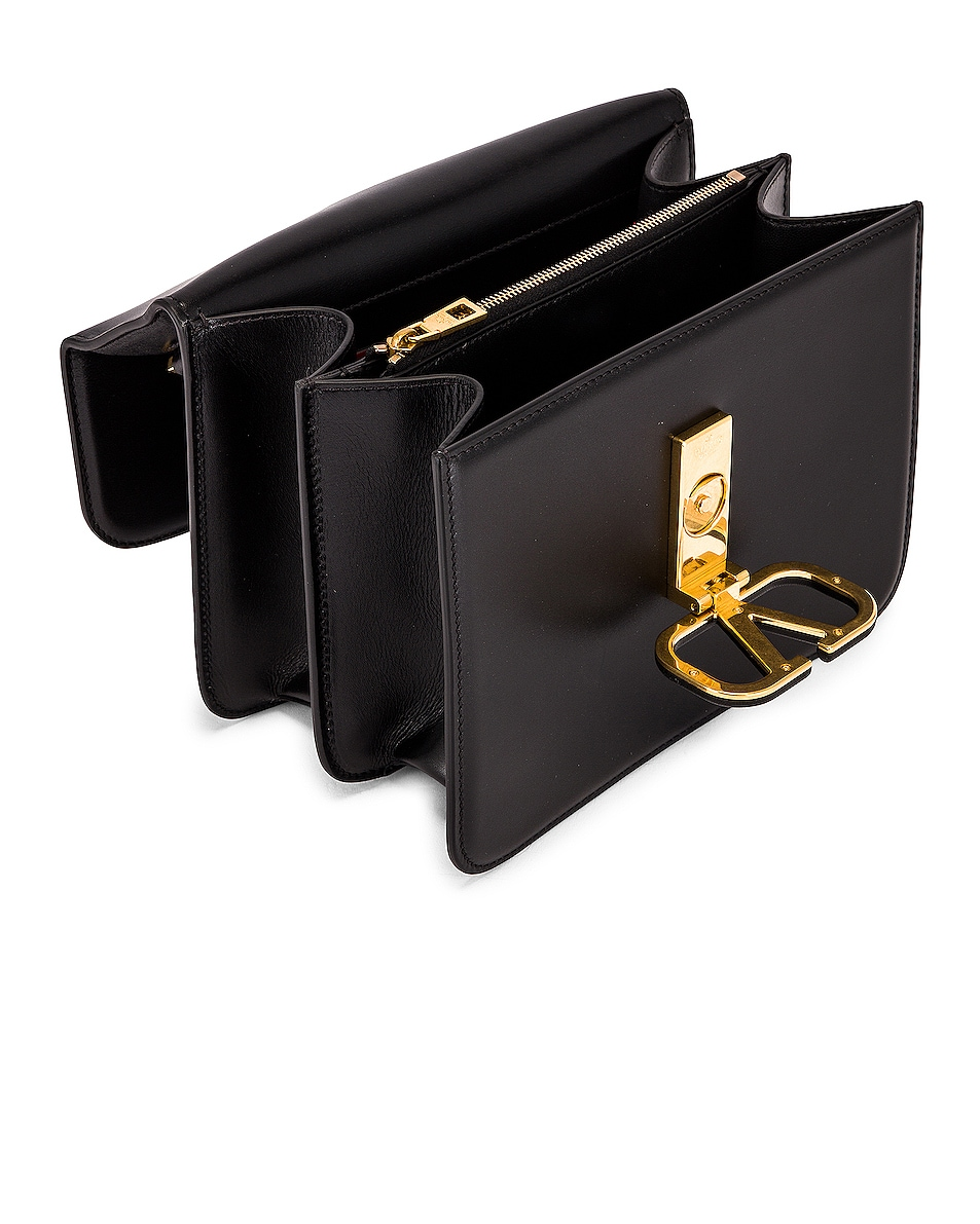 Image 5 of Valentino VSling Shoulder Bag in Nero