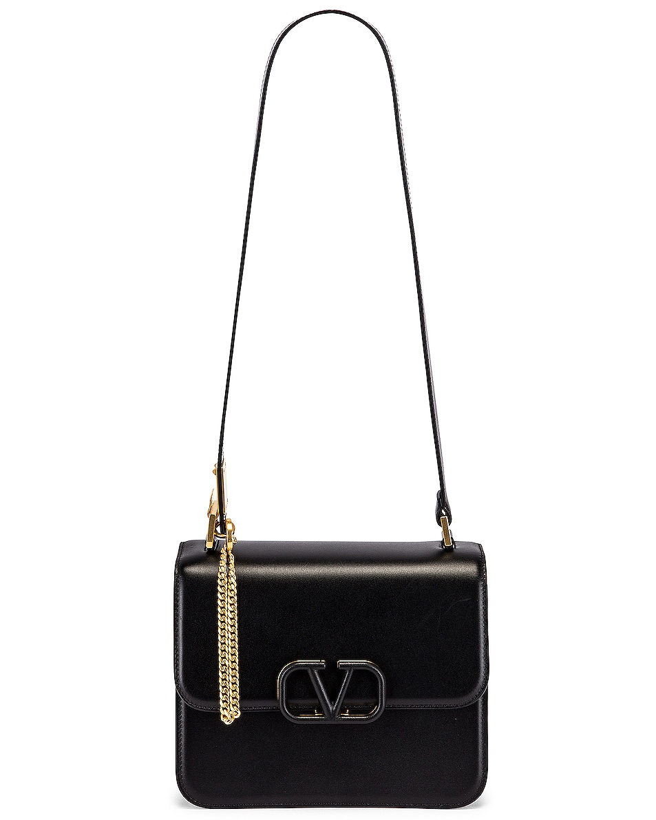 Image 6 of Valentino VSling Shoulder Bag in Nero
