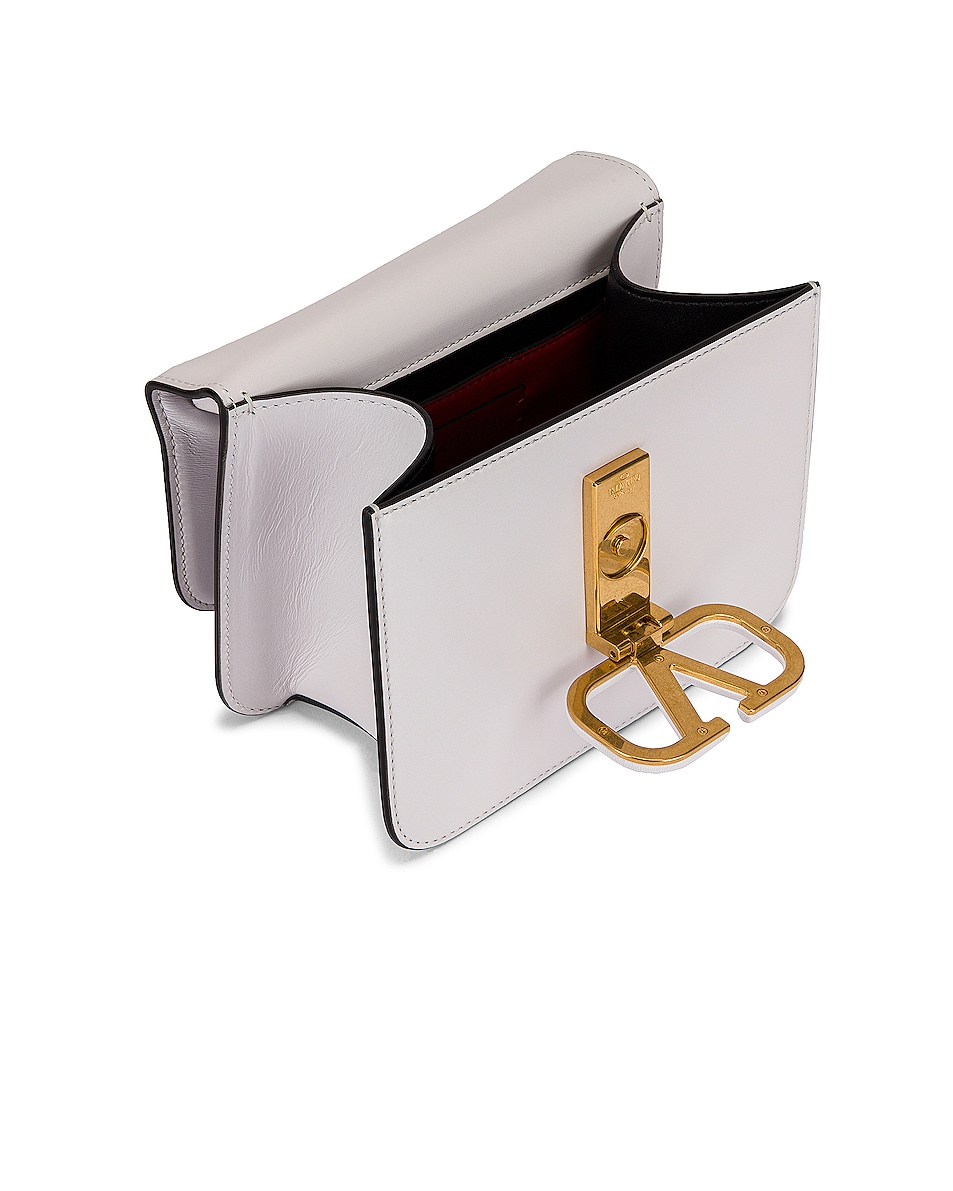 Image 5 of Valentino Small VSling Shoulder Bag in Bianco Ottico