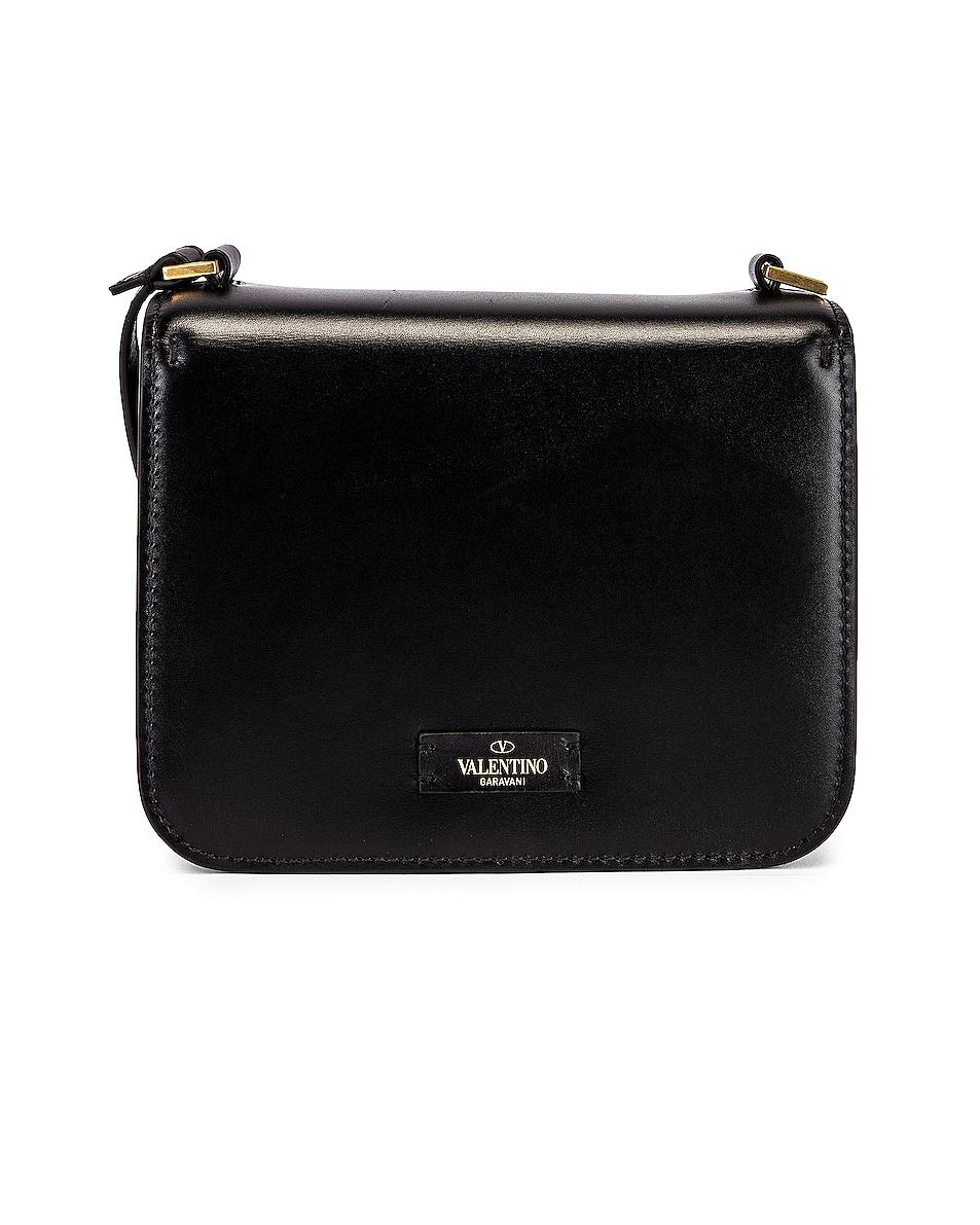 Image 3 of Valentino Small VSling Shoulder Bag in Nero