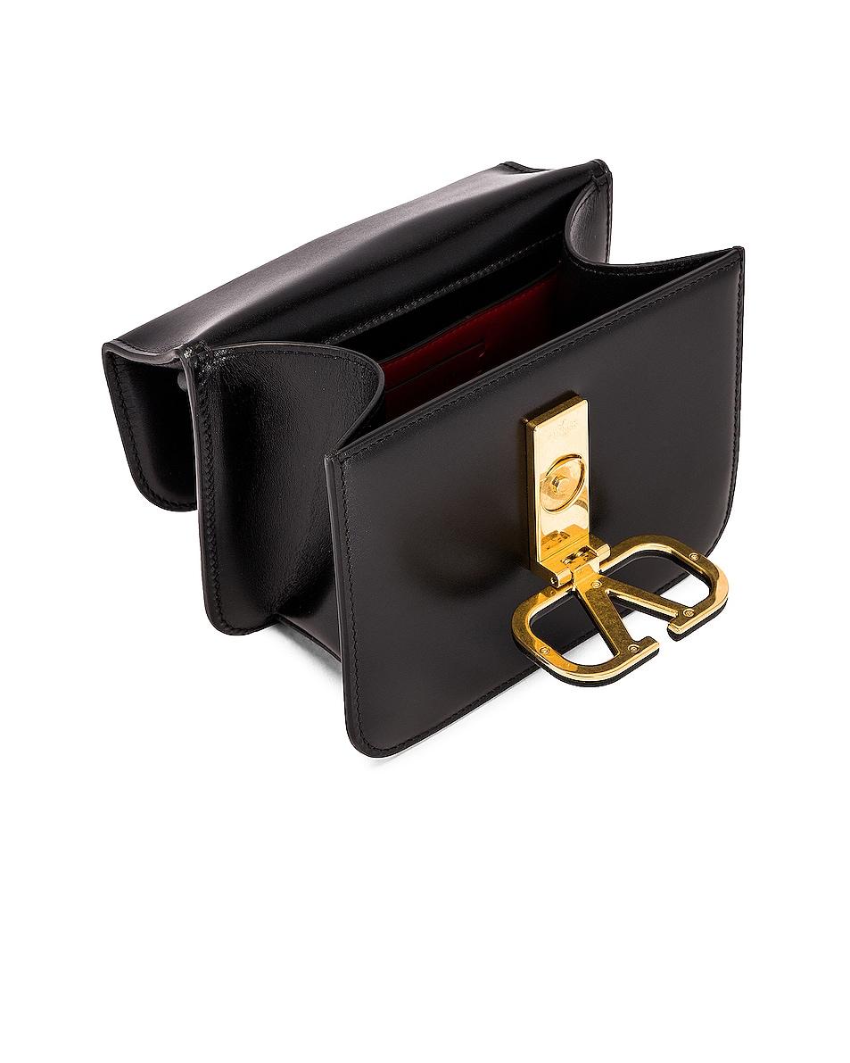 Image 5 of Valentino Small VSling Shoulder Bag in Nero