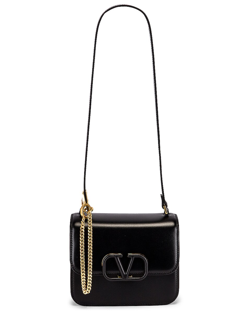 Image 6 of Valentino Small VSling Shoulder Bag in Nero