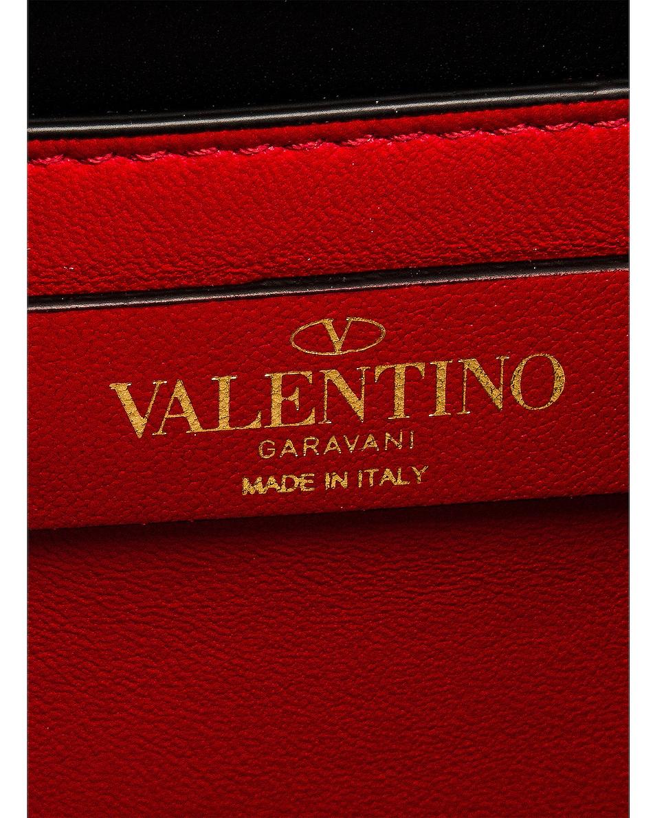 Image 7 of Valentino Small VSling Shoulder Bag in Nero