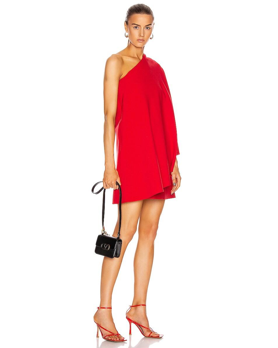 Image 2 of Valentino Micro Vsling Shoulder Bag in Nero