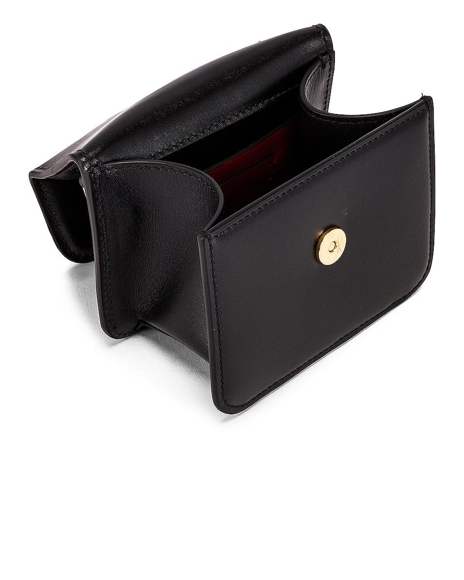 Image 5 of Valentino Micro Vsling Shoulder Bag in Nero
