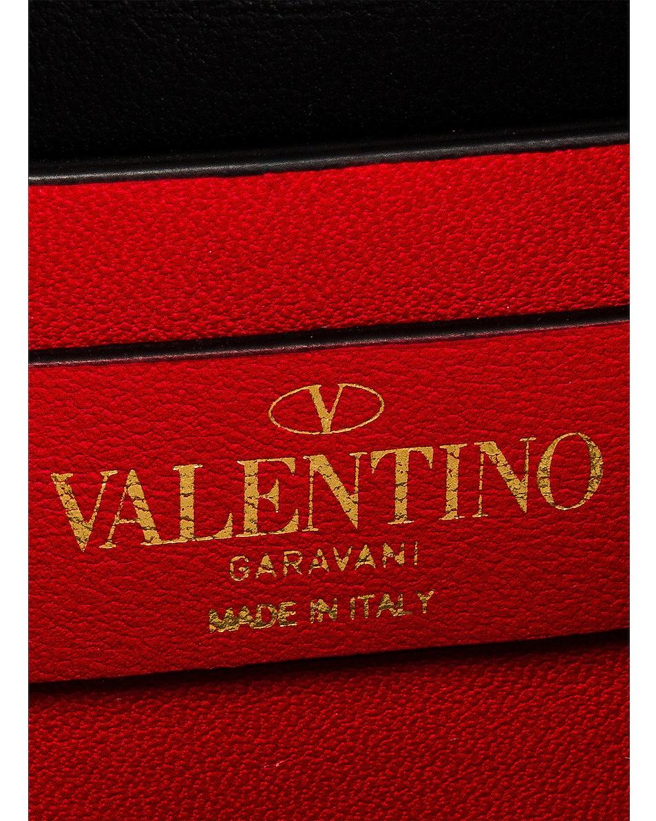 Image 7 of Valentino Micro Vsling Shoulder Bag in Nero