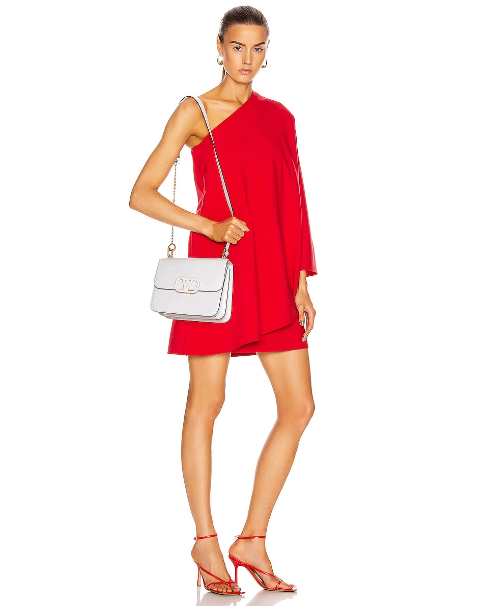 Image 2 of Valentino VSling Shoulder Bag in Bianco Ottico