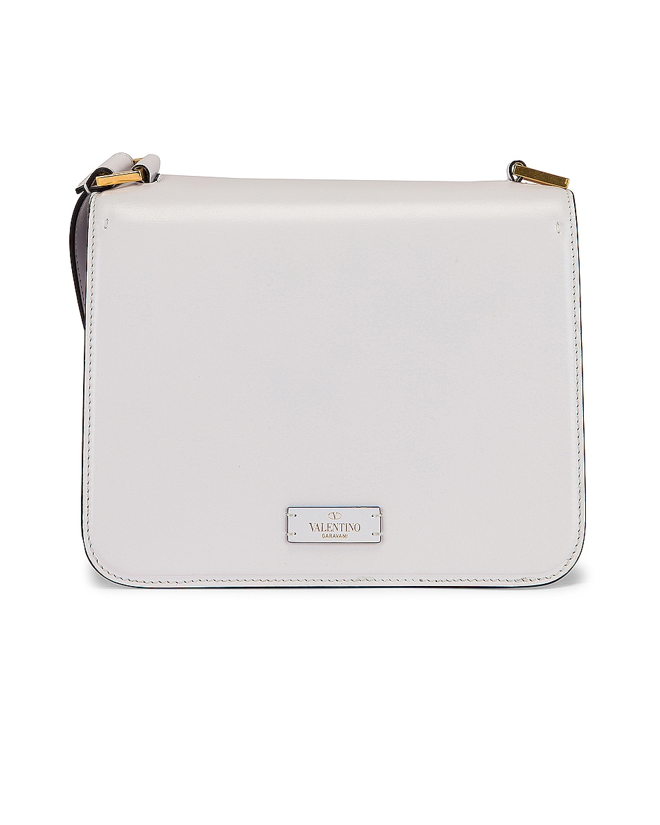 Image 3 of Valentino VSling Shoulder Bag in Bianco Ottico