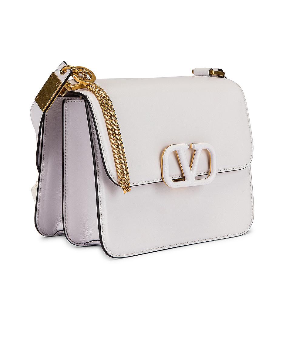 Image 4 of Valentino VSling Shoulder Bag in Bianco Ottico