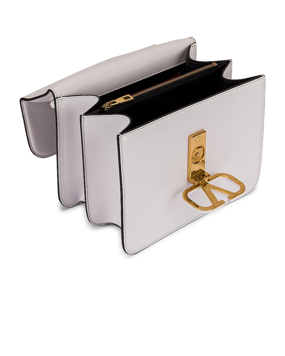 Image 5 of Valentino VSling Shoulder Bag in Bianco Ottico