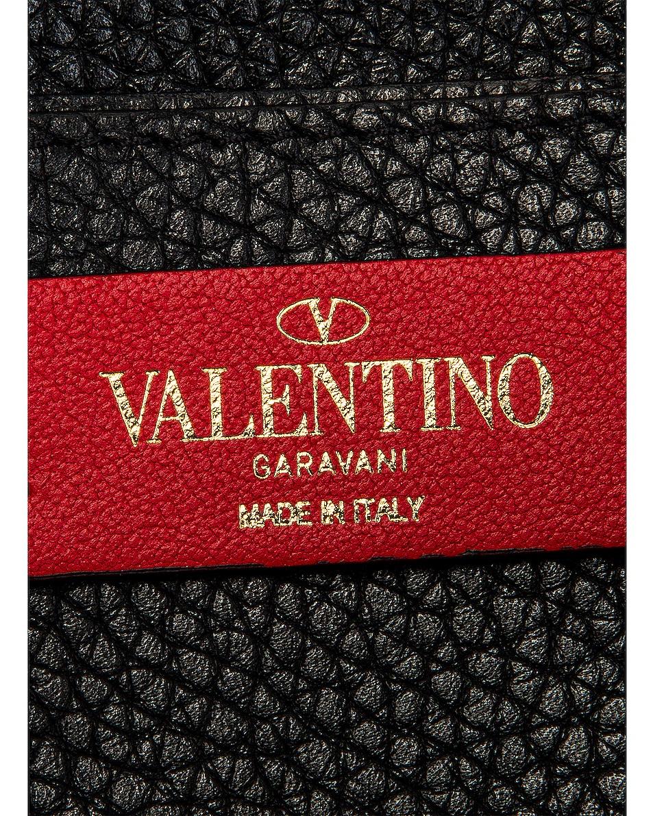 Image 7 of Valentino Rockstud Pouch in Nero