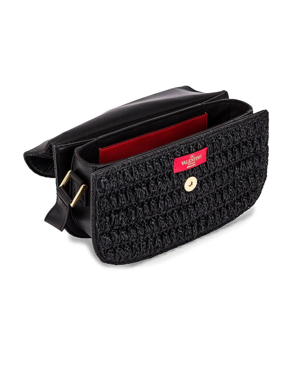 Image 5 of Valentino Supervee Shoulder Bag in Nero