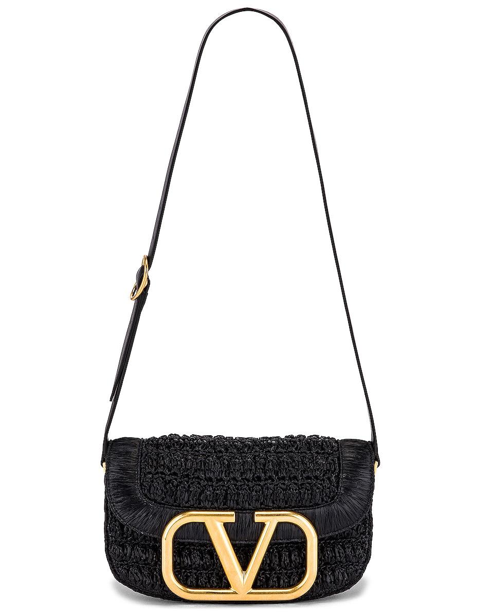 Image 6 of Valentino Supervee Shoulder Bag in Nero
