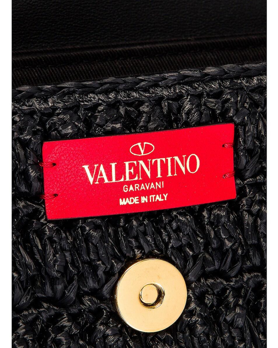 Image 7 of Valentino Supervee Shoulder Bag in Nero