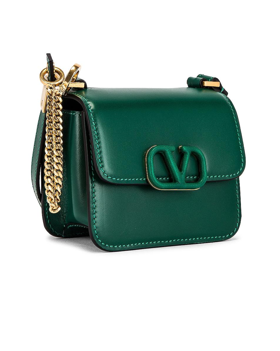 Image 4 of Valentino Micro Vsling Shoulder Bag in Jungle