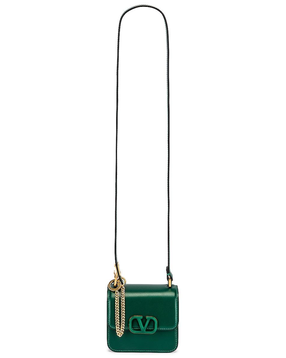Image 6 of Valentino Micro Vsling Shoulder Bag in Jungle