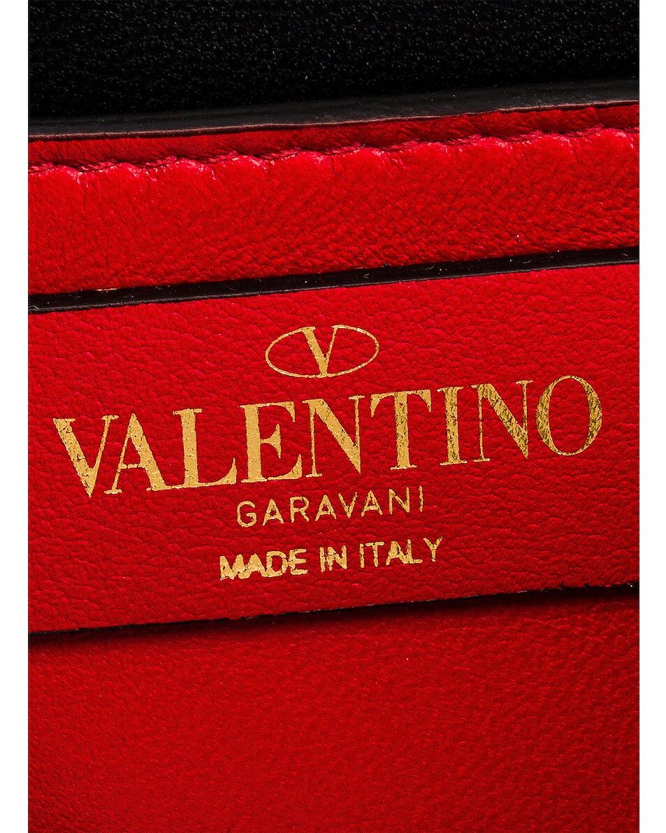 Image 7 of Valentino Small Supervee Shoulder Bag in Nero