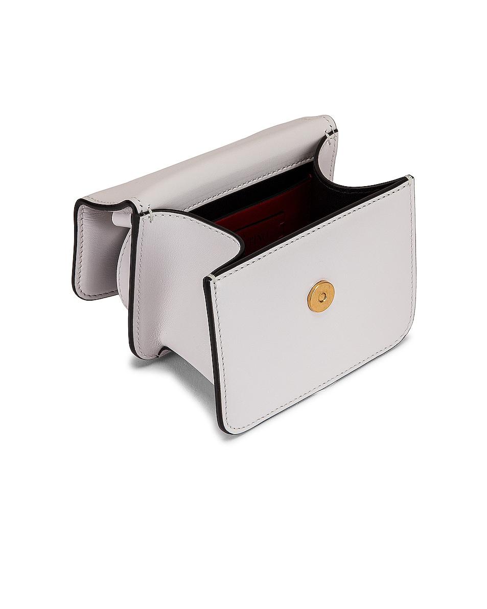 Image 5 of Valentino Micro Vsling Shoulder Bag in Bianco Ottico