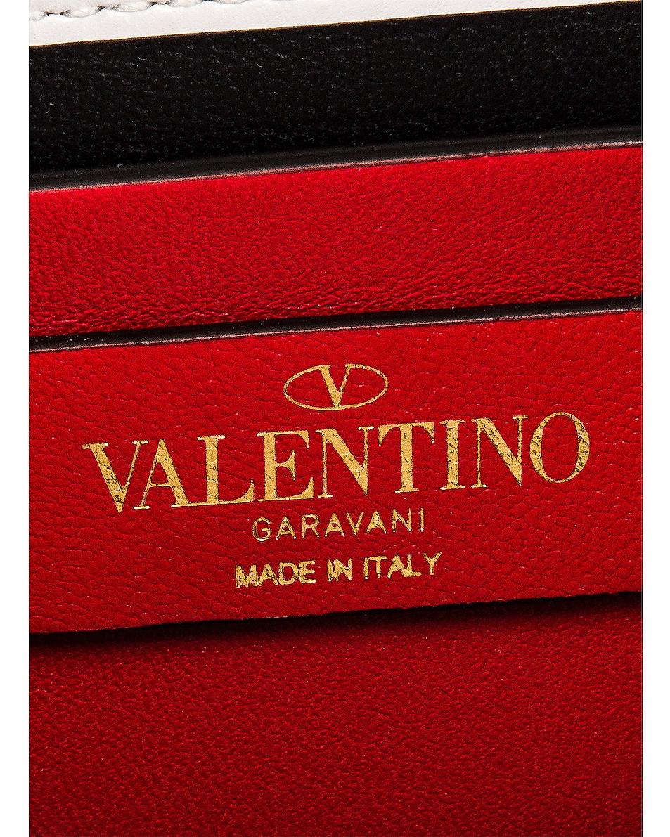 Image 7 of Valentino Micro Vsling Shoulder Bag in Bianco Ottico