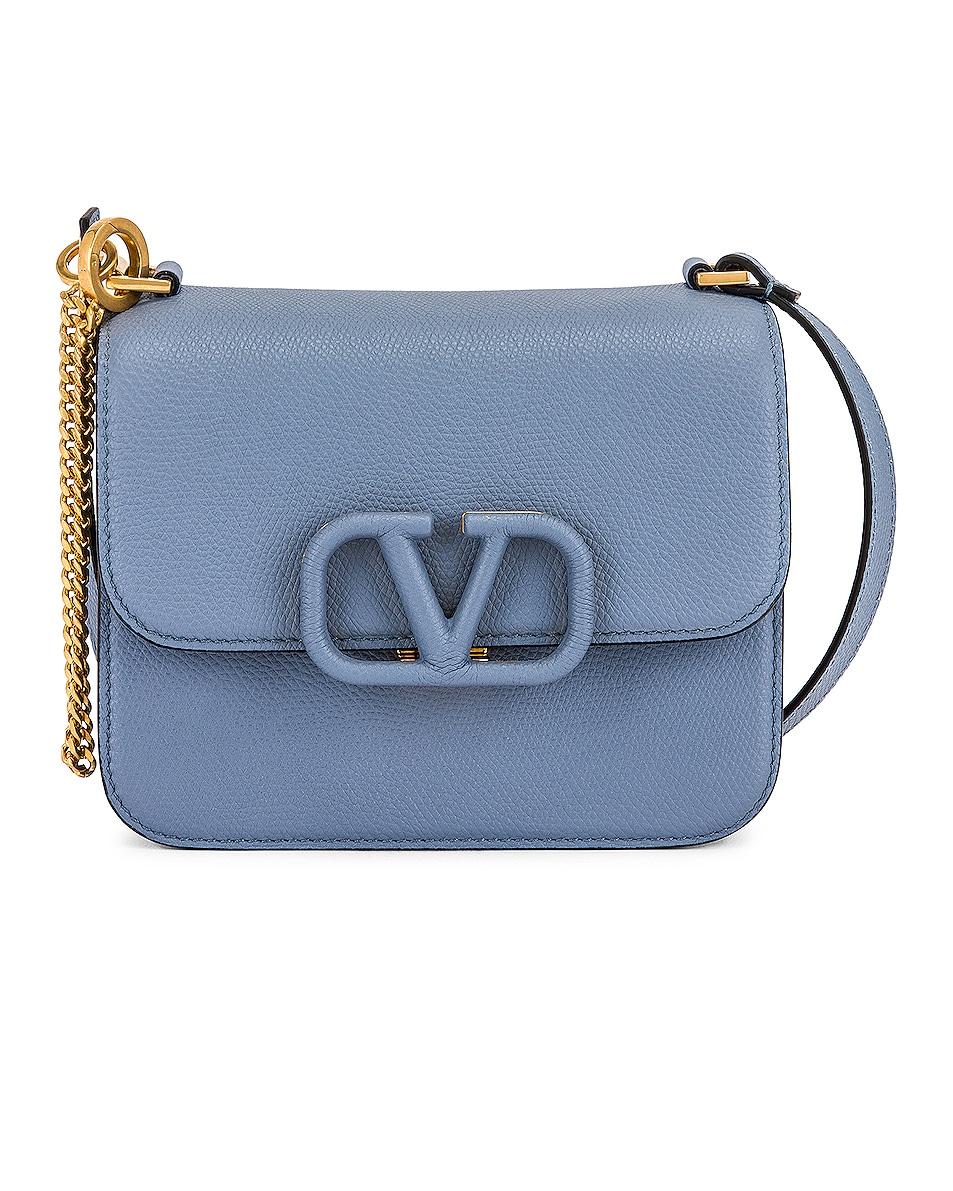 Image 1 of Valentino Garavani Small VSling Shoulder Bag in Niagara