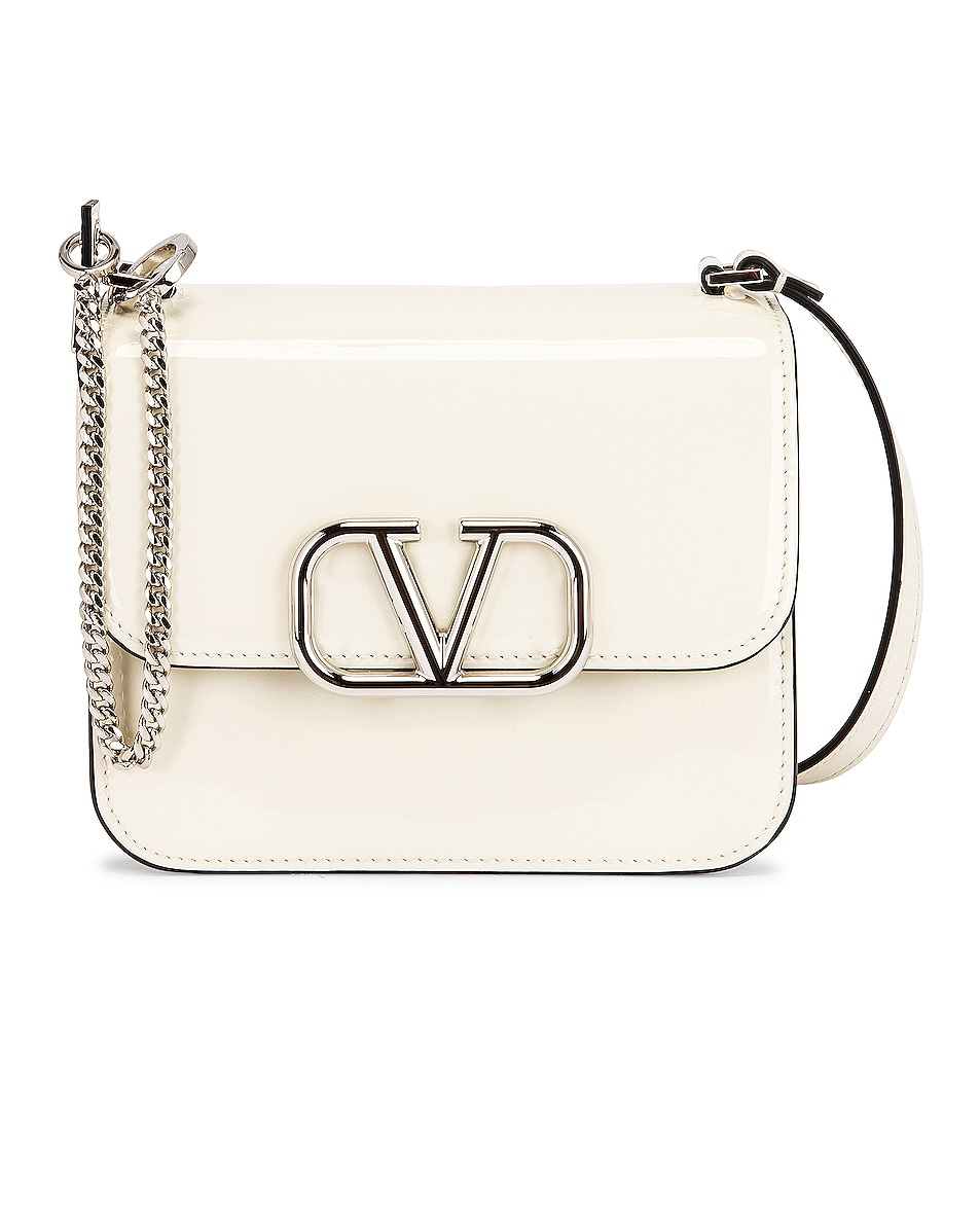 Image 1 of Valentino Small VSling Shoulder Bag in Light Ivory
