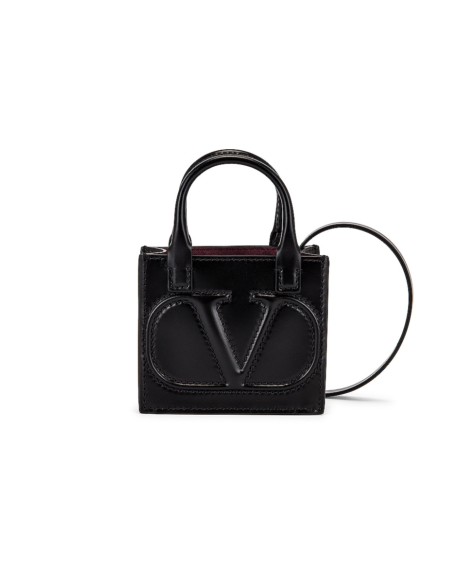 Image 1 of Valentino Garavani Mini Tote in Nero