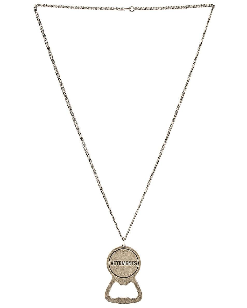 Vetements Accessories Bottle Opener Necklace