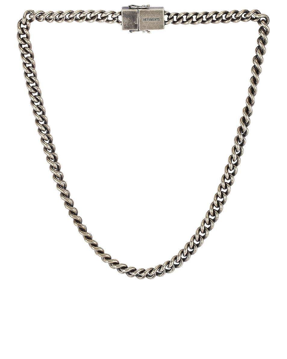 Image 1 of VETEMENTS Usb-C Necklace in Silver
