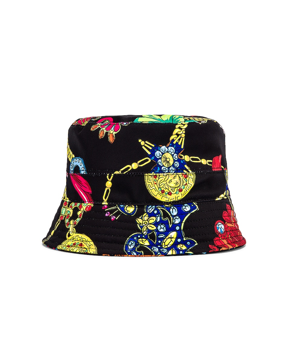 Image 3 of VERSACE Cap in Nero & Stampa