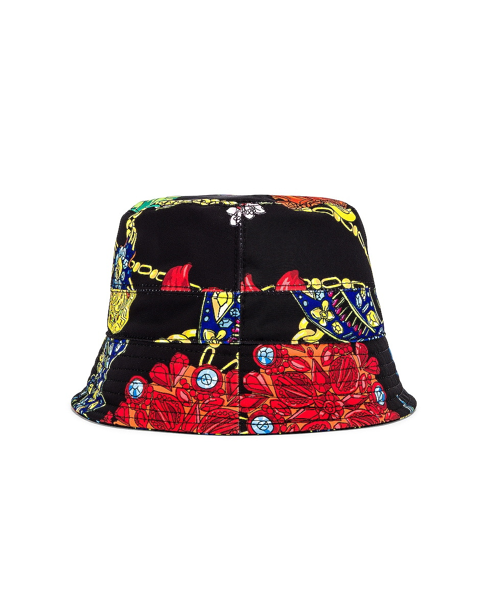 Image 4 of VERSACE Cap in Nero & Stampa