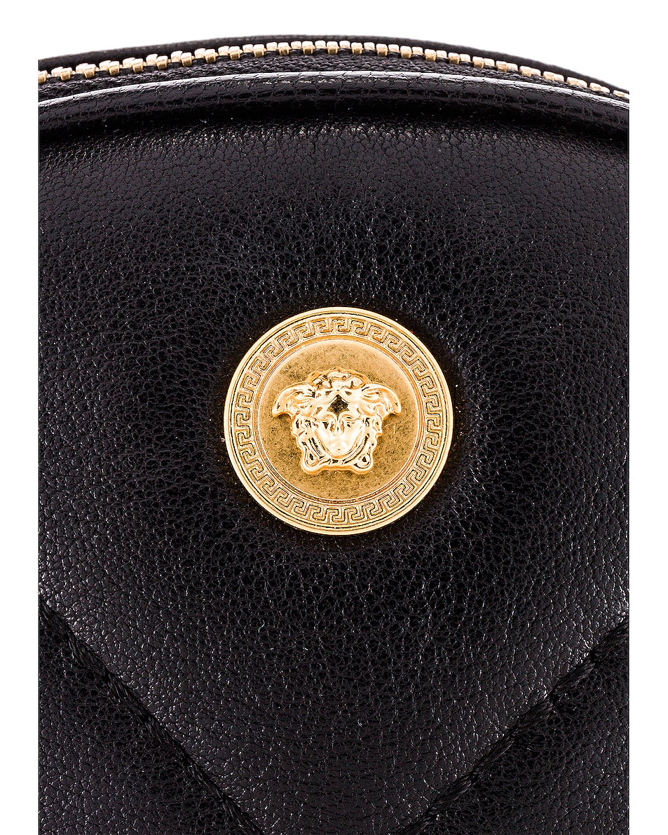 Image 5 of VERSACE Clutch in Black & Gold
