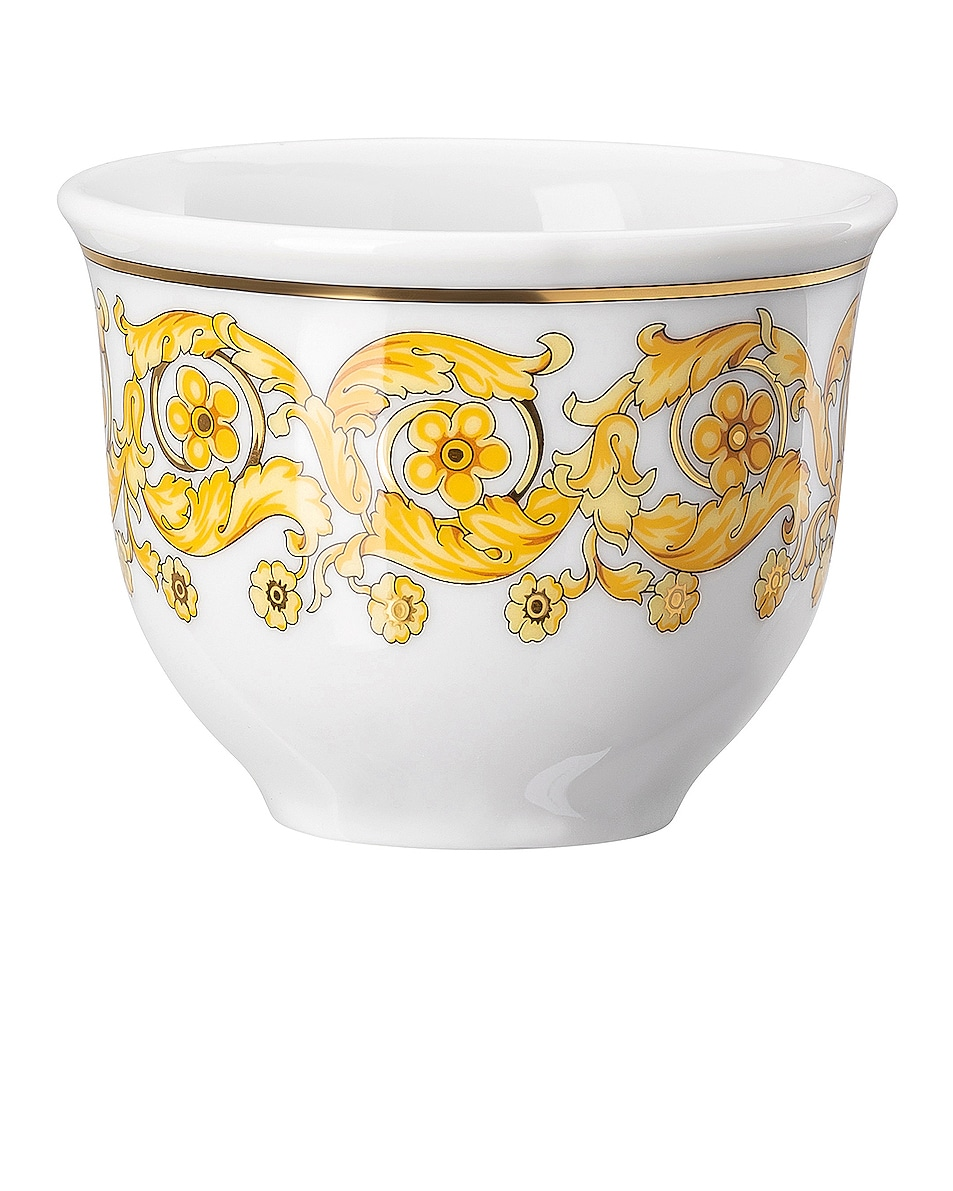 Image 1 of VERSACE Medusa Rhapsody Set of 6 Mugs in Gold