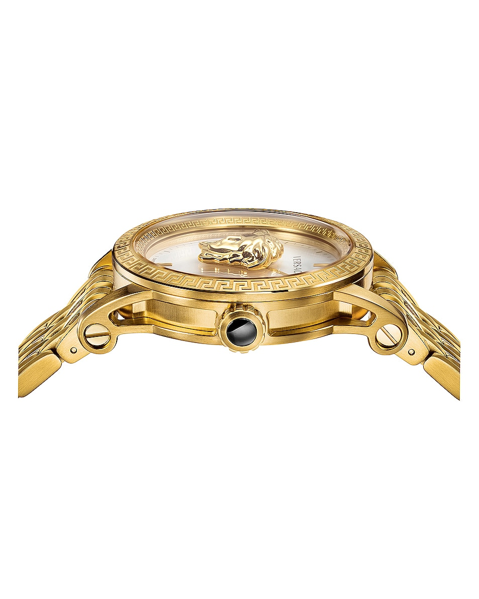 Image 3 of VERSACE Palazzo Empire 43mm in IP Yellow Gold & White Dial