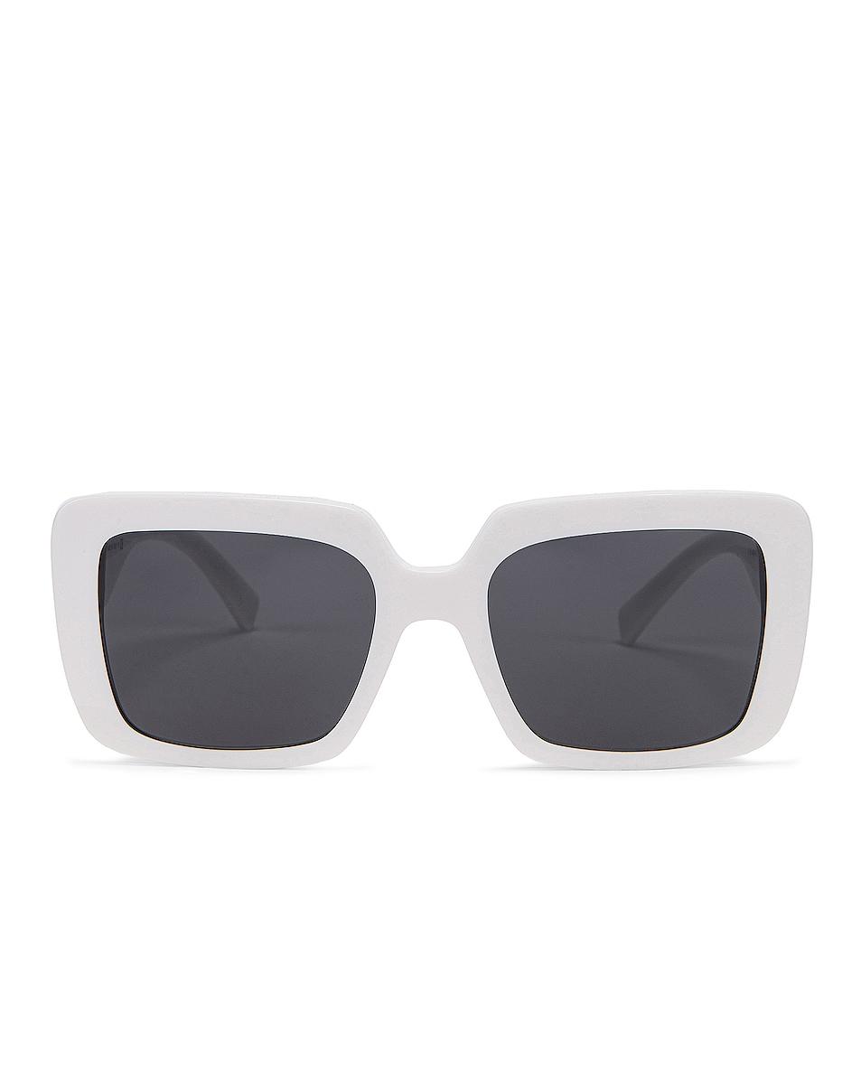Image 1 of VERSACE Medusa Jewel Sunglasses in White