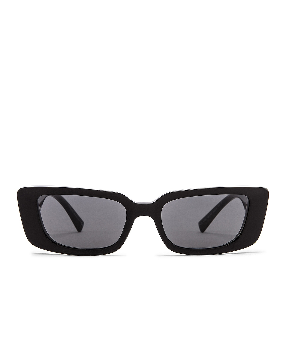 Image 1 of VERSACE Virtus Narrow Sunglasses in Black