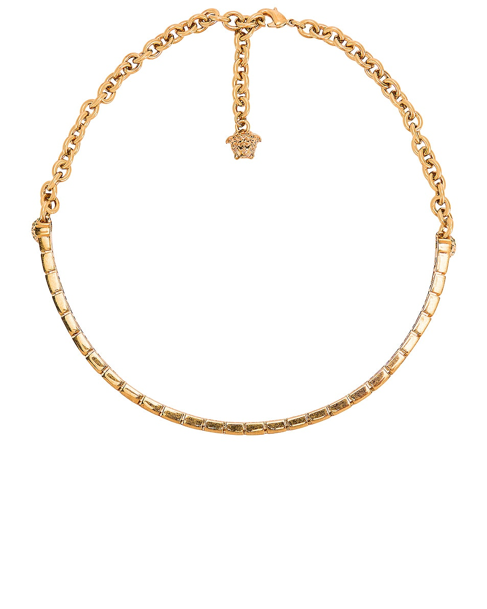 Image 1 of VERSACE Simple Choker in Gold