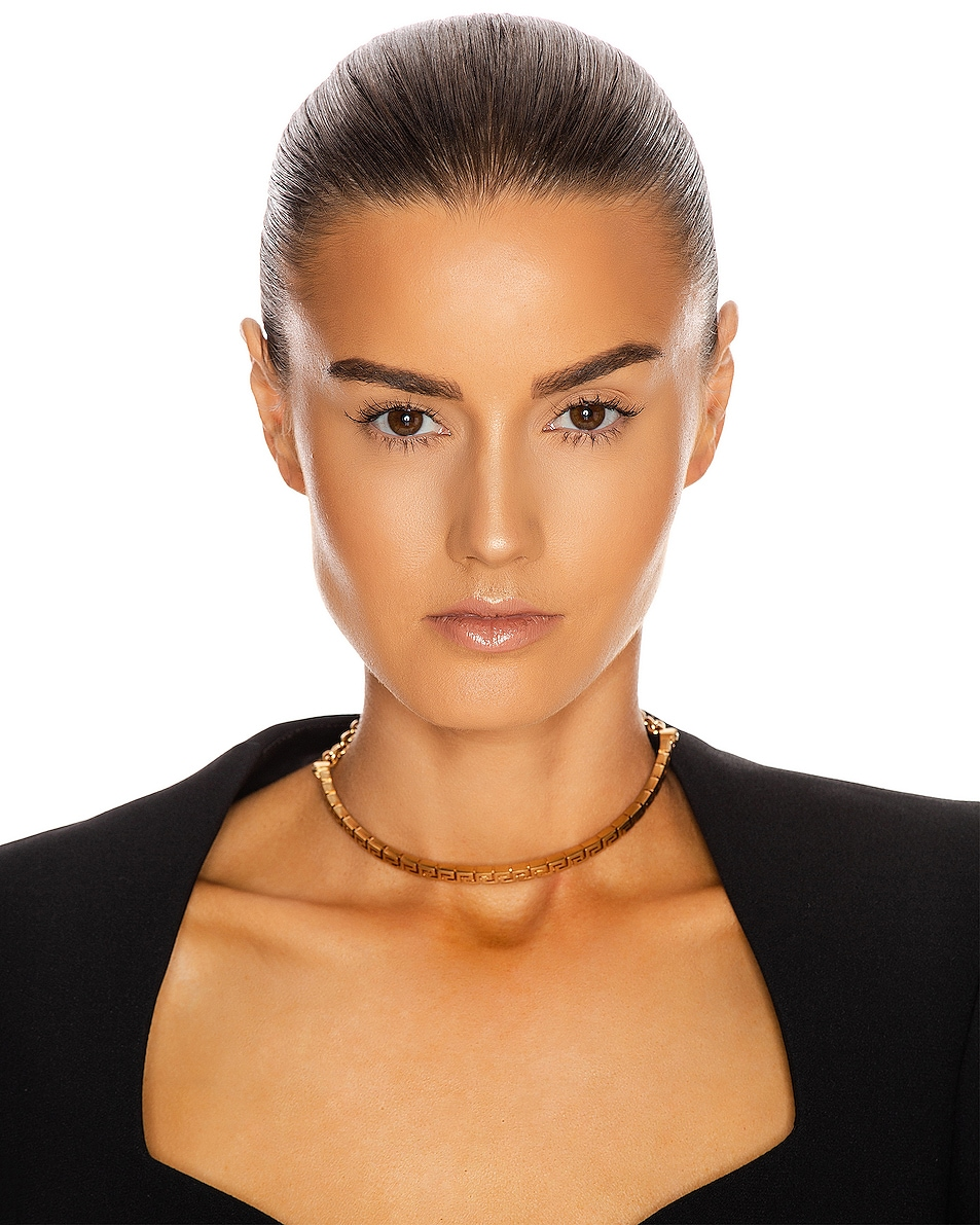 Image 2 of VERSACE Simple Choker in Gold