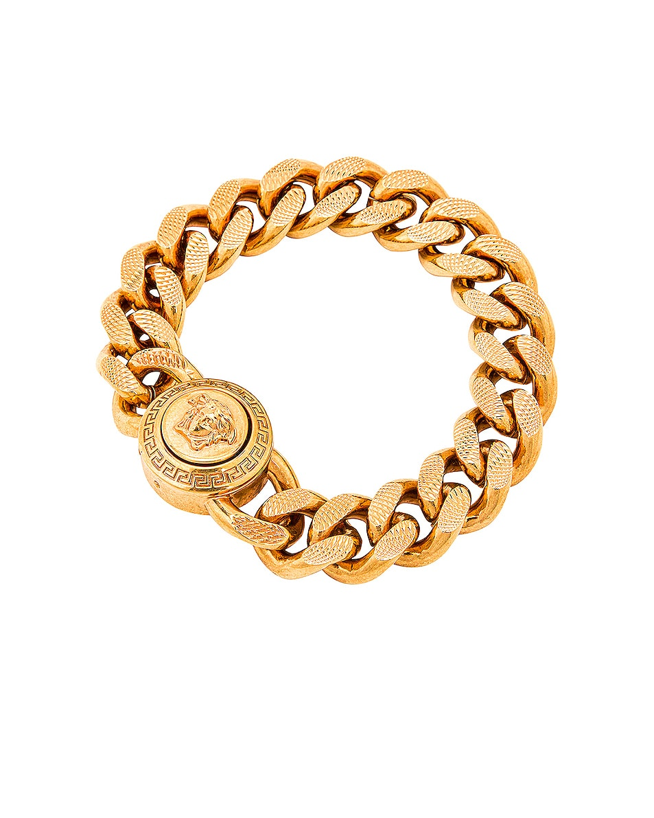 Image 1 of VERSACE Chain Bracelet in Gold