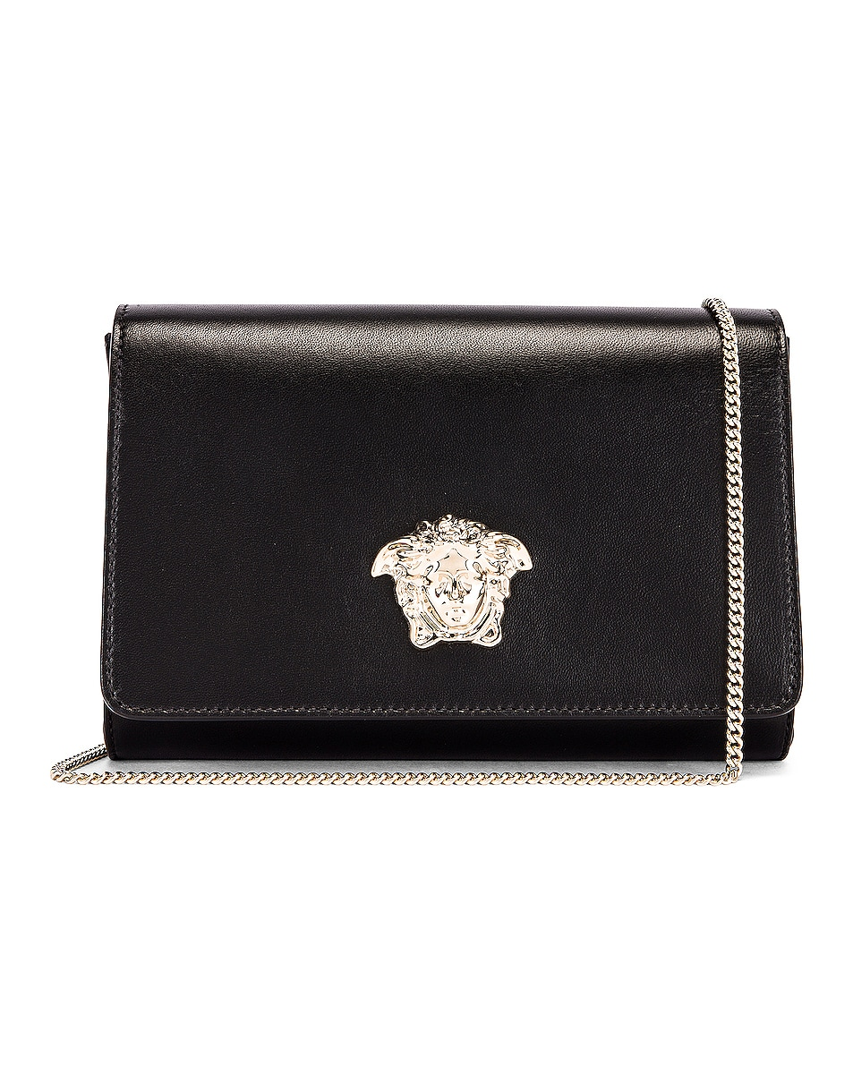 Image 1 of VERSACE Palazzo Crossbody Bag in Black
